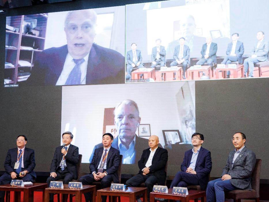 恒洁集团CEO丁威先生受邀对话诺贝尔经济学奖得主